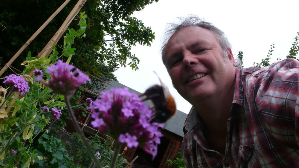 Selfie with pollinator
