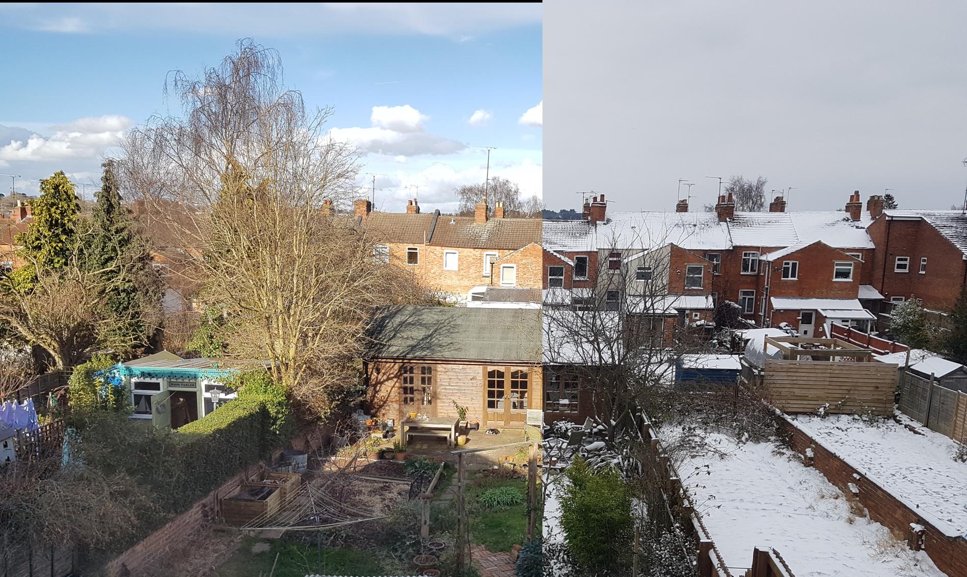 Snow-Warm garden comparison