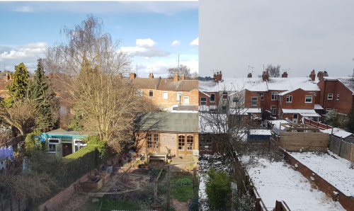 Snow-Warm garden comparison